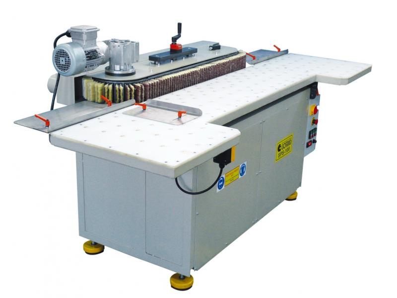 SPS-100 belt brushing machine
